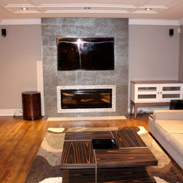 Finished Family room